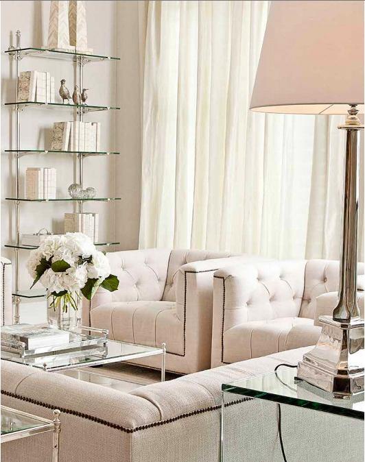 Гостиная, холл в цветах: белый, бежевый. Гостиная, холл в стилях: арт-деко.