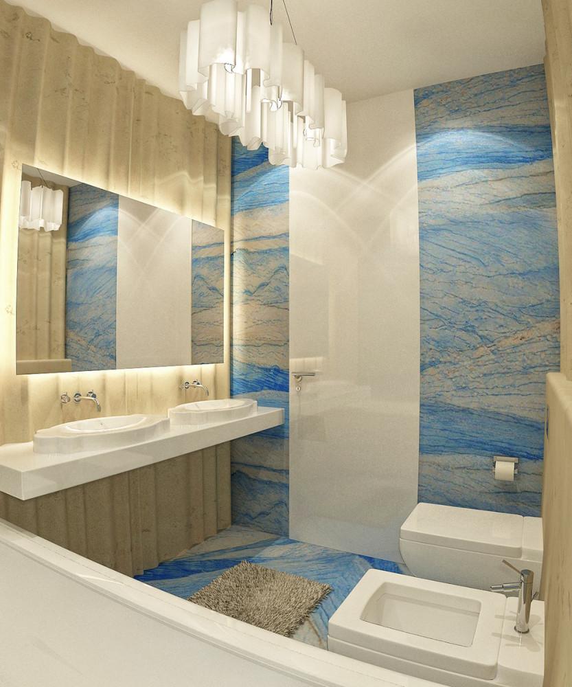 Мебель и предметы интерьера в цветах: голубой, белый, бежевый. Мебель и предметы интерьера в стилях: минимализм.