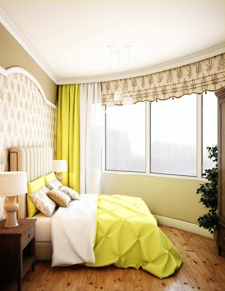 Мебель и предметы интерьера в цветах: желтый, светло-серый, белый, лимонный. Мебель и предметы интерьера в стиле эклектика.