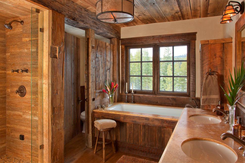 Туалет в цветах: оранжевый, белый, бордовый, темно-коричневый, коричневый. Туалет в стилях: кантри, скандинавский стиль, экологический стиль.