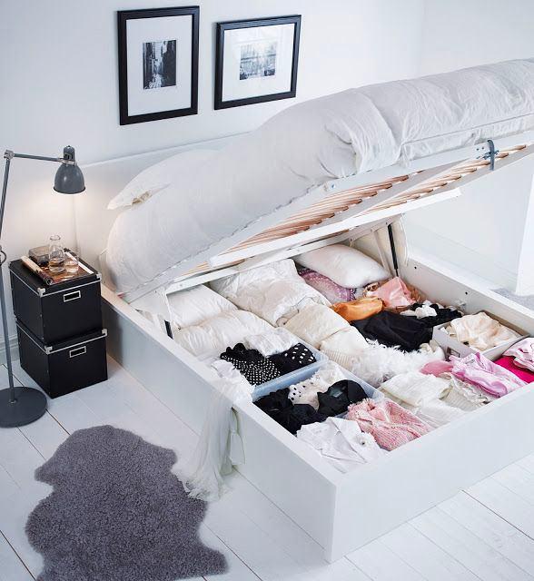 Спальня в цветах: черный, серый, белый, бежевый. Спальня в стилях: скандинавский стиль.