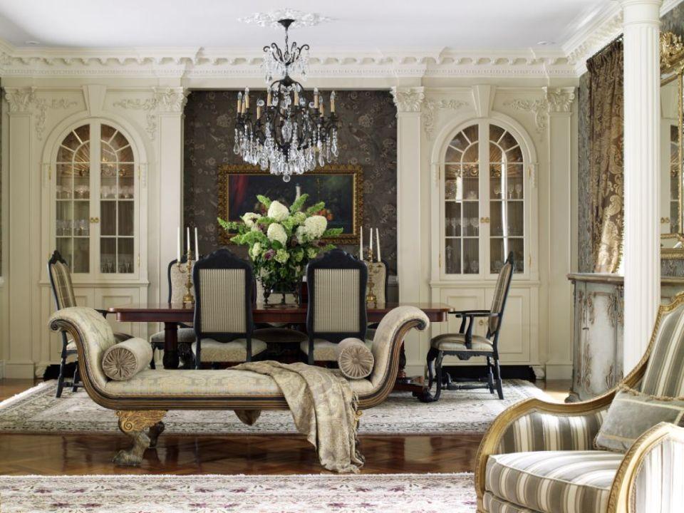 Гостиная, холл в цветах: серый, светло-серый, белый, бежевый. Гостиная, холл в стиле классика.