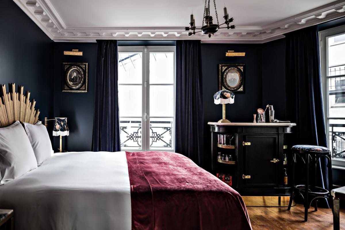 4 парижские спальни, которые вдохновят вас на ремонт своей