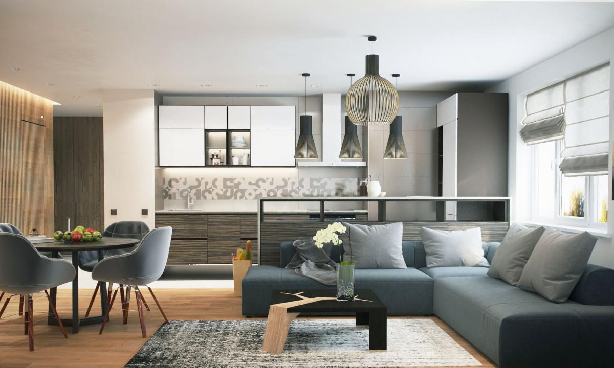 Как обустроить квартиру студию с грамотно спланированной