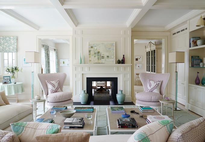 Дом в пастельных тонах: нежность и изысканность