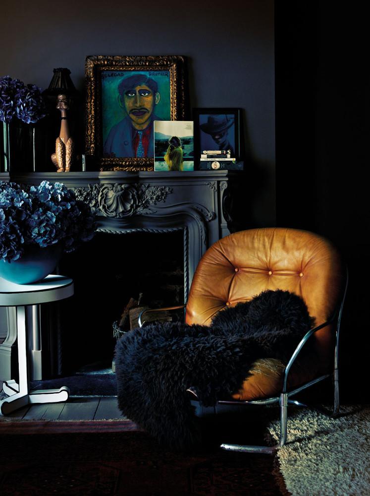Вдохновение в  цветах:   Синий, Черный.  Вдохновение в  .