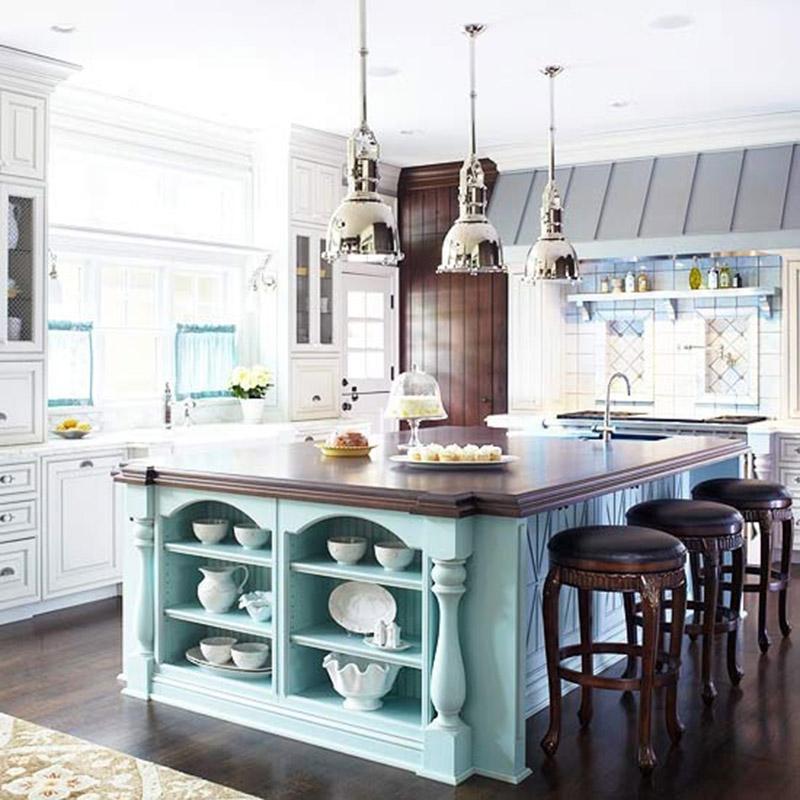 Кухня/столовая в  цветах:   Белый, Светло-серый, Серый, Черный.  Кухня/столовая в  стиле:   Американский стиль.