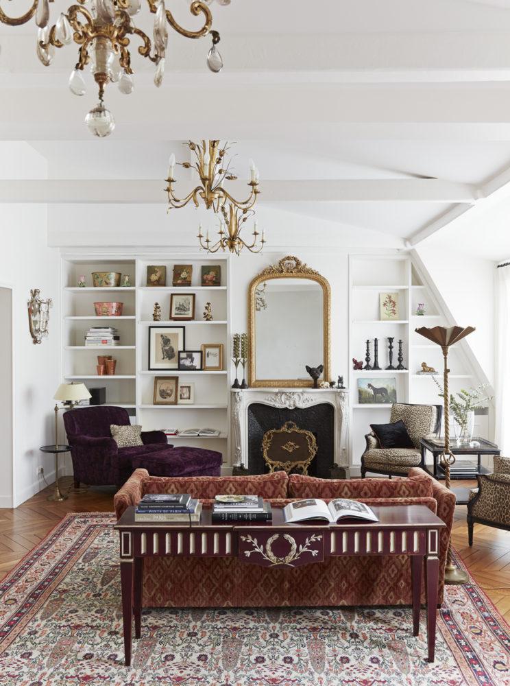 Умопомрачительная квартира на бульваре Сен-Жермен в Париже