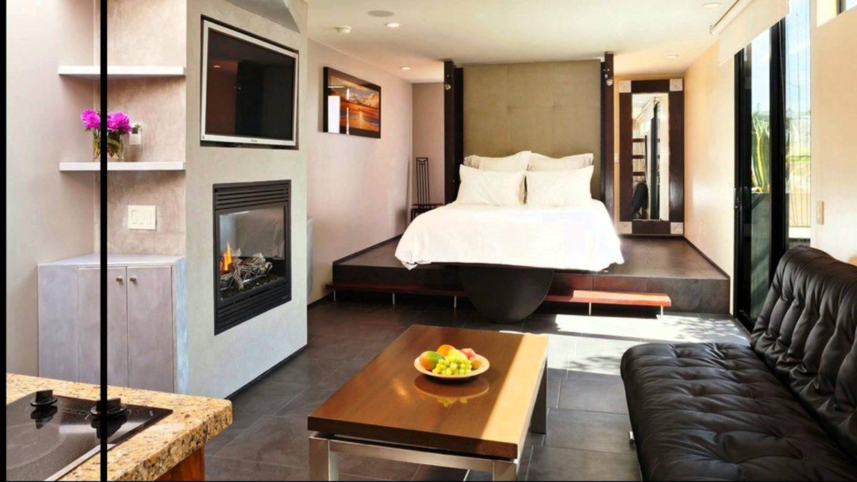 Спальня в  цветах:   Белый, Светло-серый, Серый, Черный, Бежевый.  Спальня в  стиле:   Минимализм.