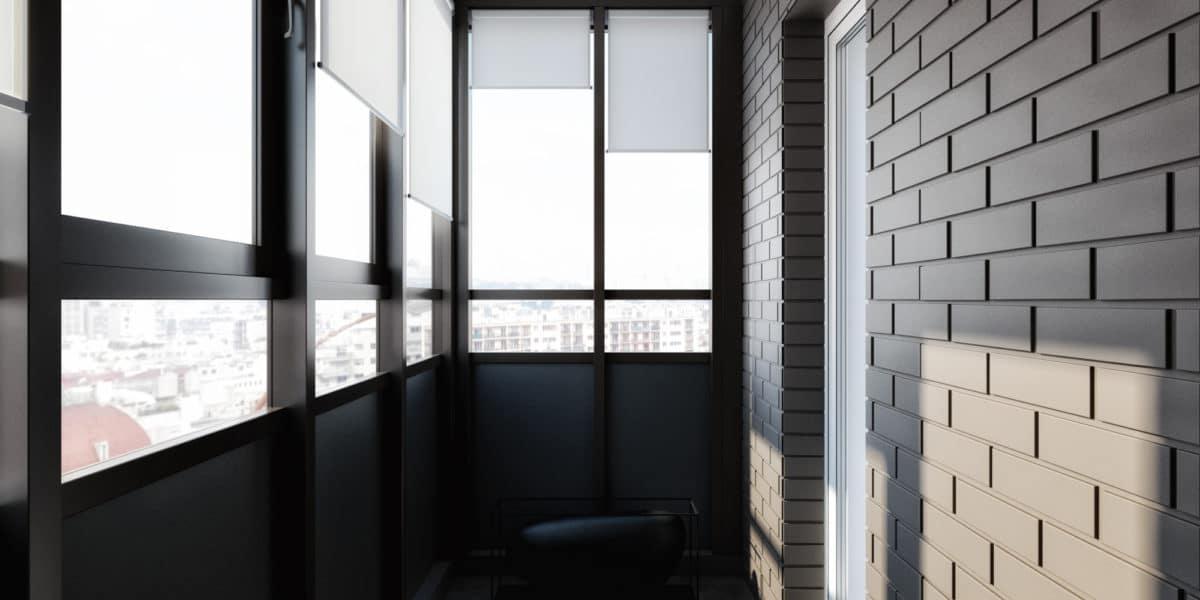 Эталон современного минимализма: чёрно-белая квартира для мо.