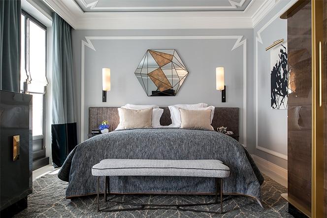 Жан-Луи Денио: потрясающие интерьеры нового отеля в Париже