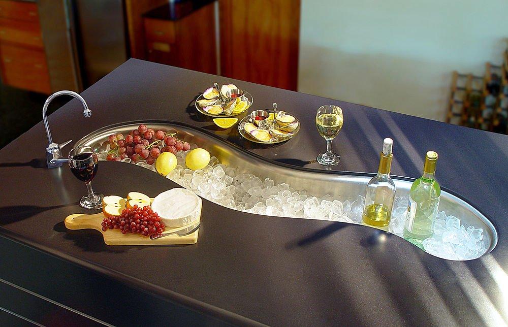 17 самых необычных кухонных раковин