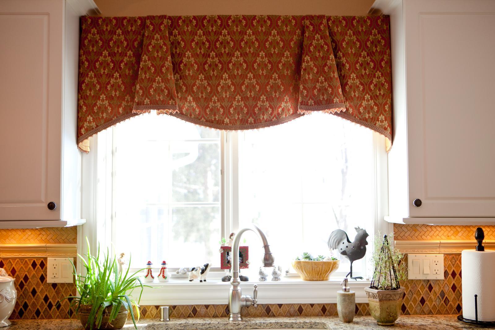 16 оригинальных идей для штор на кухне Roomble Com