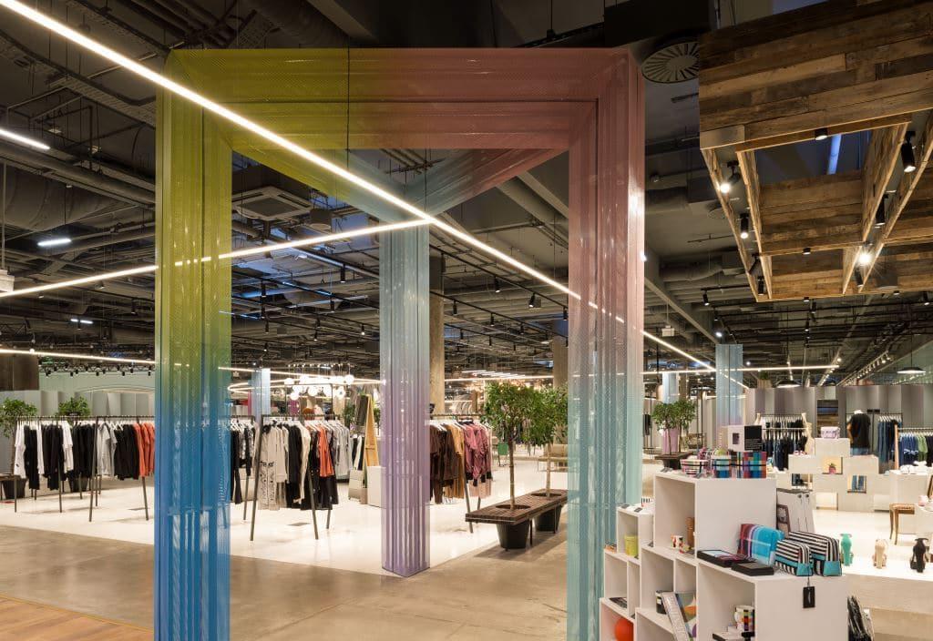 Дизайн, искусство и мода: в «Авиапарке» открывается Trend Island