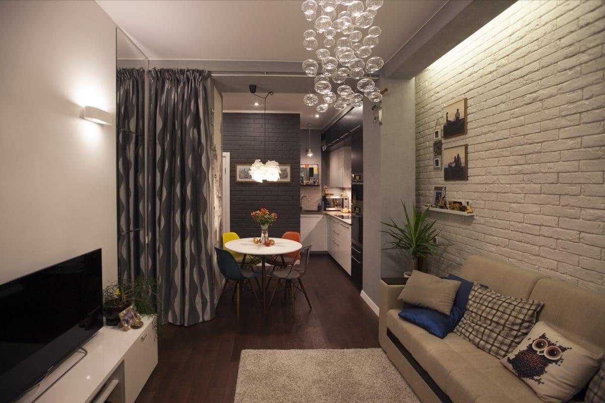 Двушка в Москве: 46 метров тепла и уюта + видеорепортаж