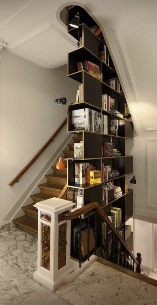Библиотека в  цветах:   Бежевый, Коричневый, Светло-серый, Темно-коричневый, Черный.  Библиотека в  стиле:   Минимализм.