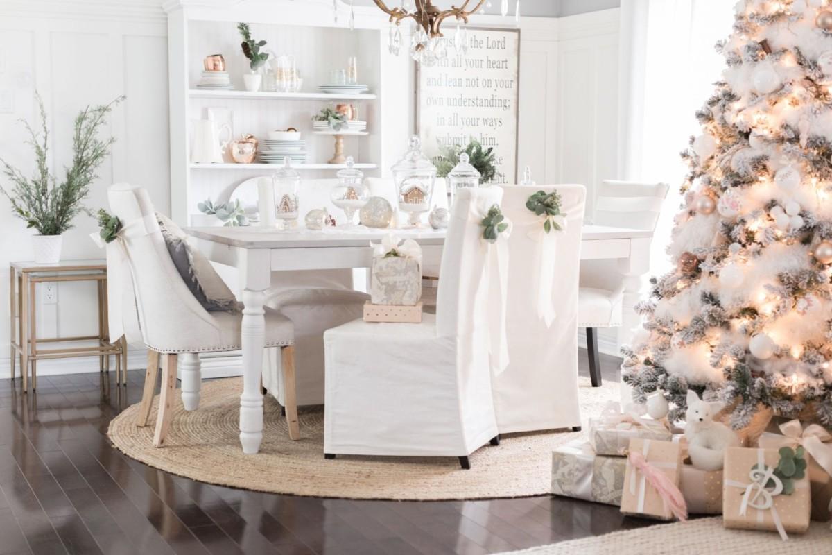 Новогоднее оформление стола: главные тренды