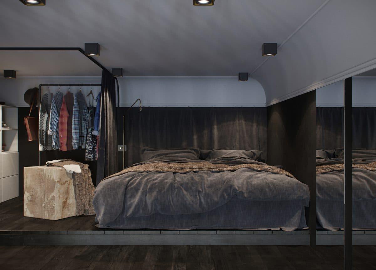 24 метра: наикрутейшая чёрная квартира во Владивостоке