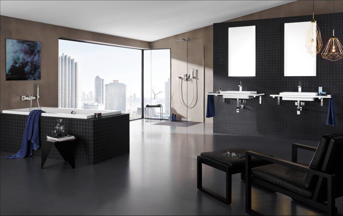 7 полезных новинок для ванной комнаты: цвета, смесители и гидромассаж
