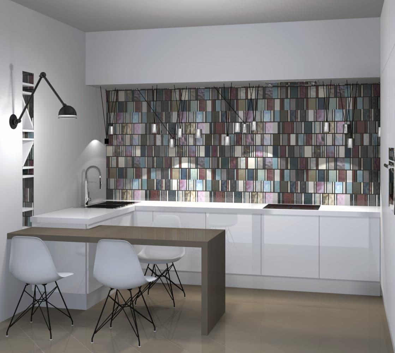 Кухня/столовая в  цветах:   Бордовый, Коричневый, Светло-серый, Серый.  Кухня/столовая в  стиле:   Скандинавский.