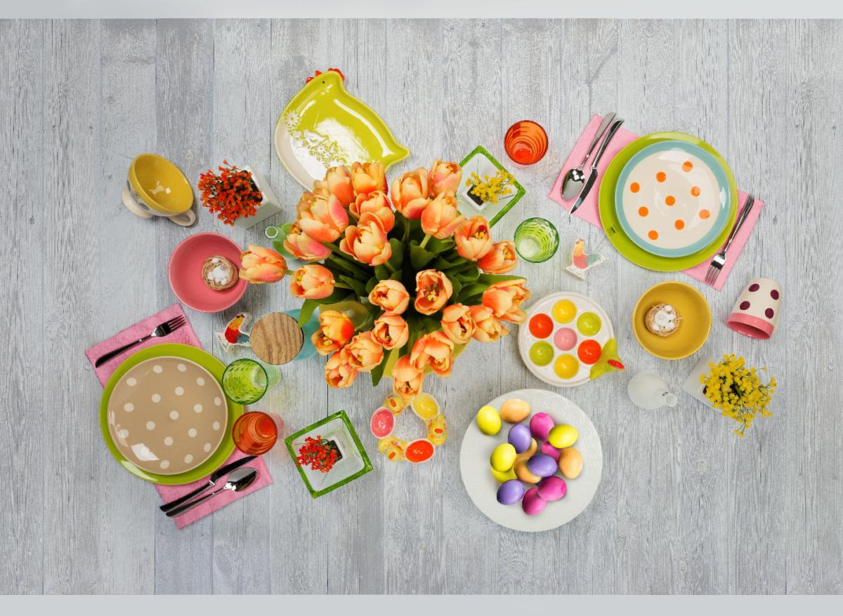 23 марта в сети магазинов «Евродом» стартует конкурс по украшению пасхального стола