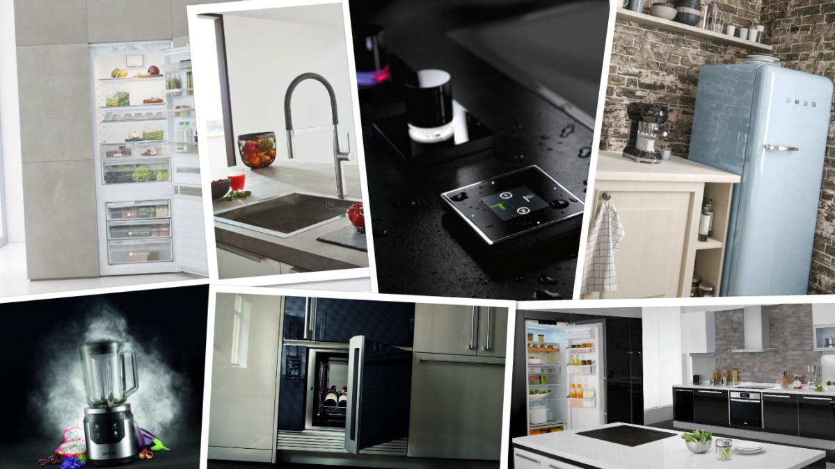 10 крутых новинок 2017 года для кухни от лучших брендов техники