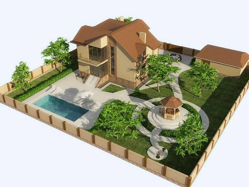 Как сделать красивым сад и огород 43