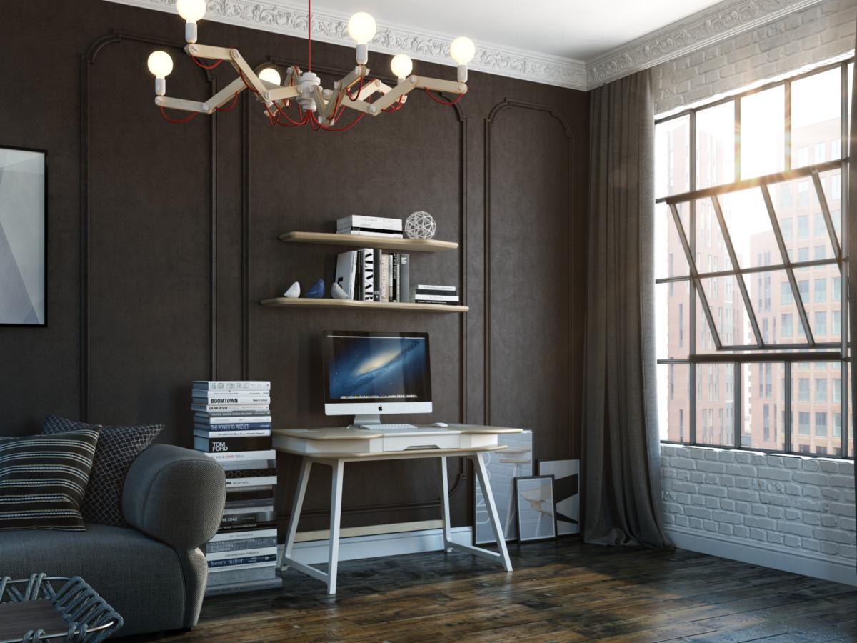 Современный рабочий стол от российского предметного дизайнера