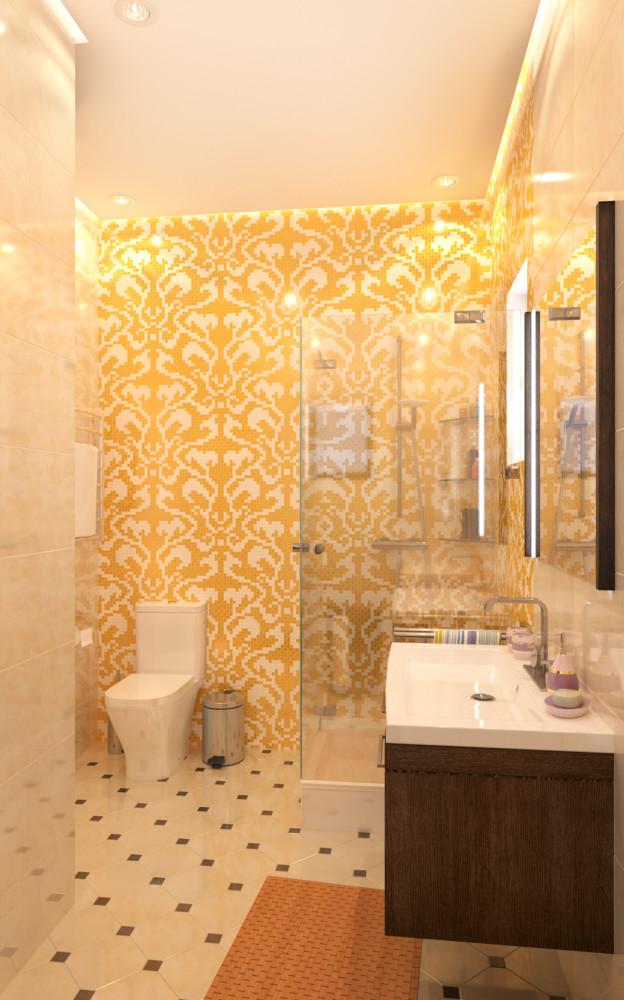 Мозаичное панно изготовили в мастерской в Санкт-Петербурге.