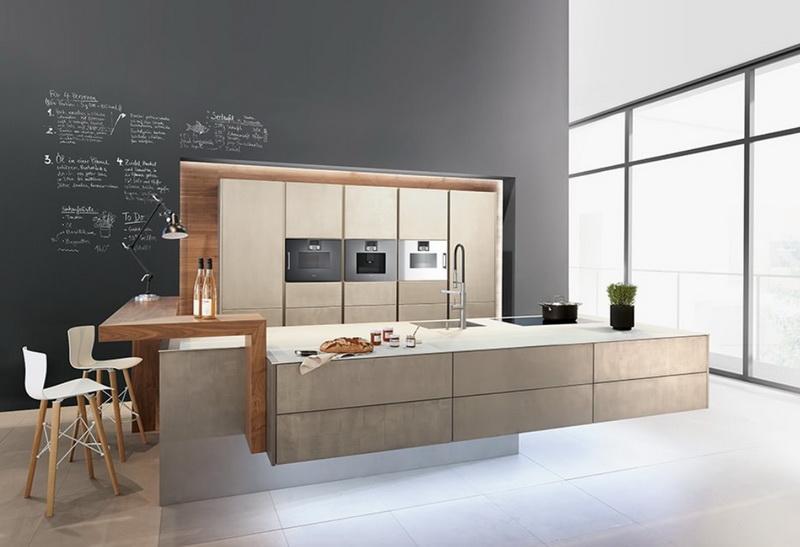 Кухня/столовая в  цветах:   Коричневый, Светло-серый, Серый, Темно-коричневый, Фиолетовый.  Кухня/столовая в  стиле:   Минимализм.
