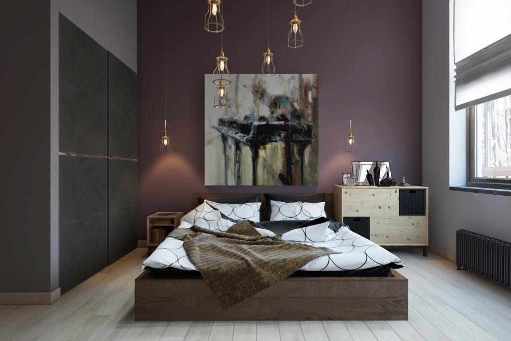 Главным и очень бюджетным приёмом при создании этого интерьера стал цвет. Цвет создал настроение этой комнаты.