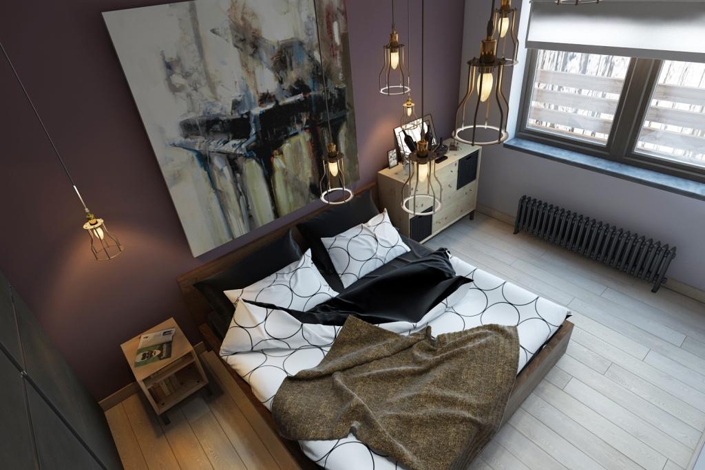 Эта комната наполнена недорогой мебелью из магазина ИКЕА, но от этого она не стала проще. Все элементы мебели различны по форме и текстуре, но при этом эффектно гармонируют между собой.