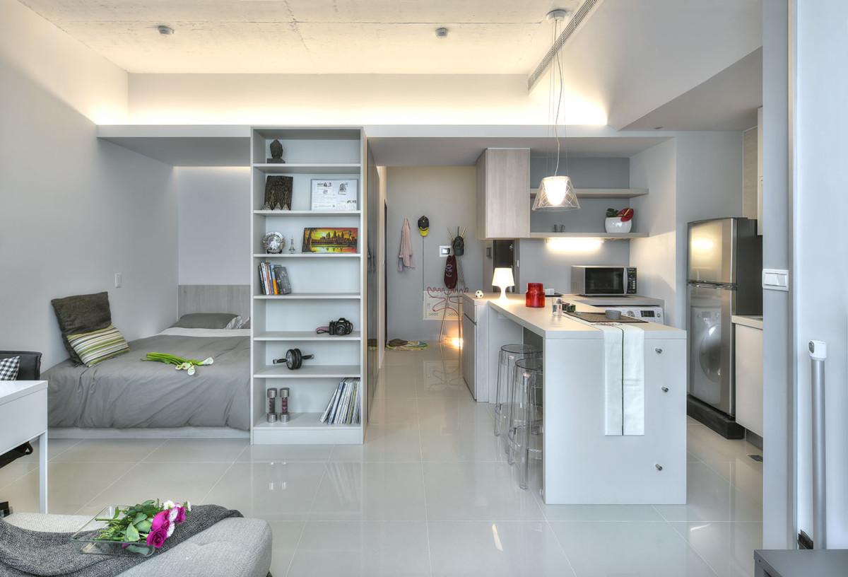 Обустройство маленькой квартиры — 6 инновационных решений