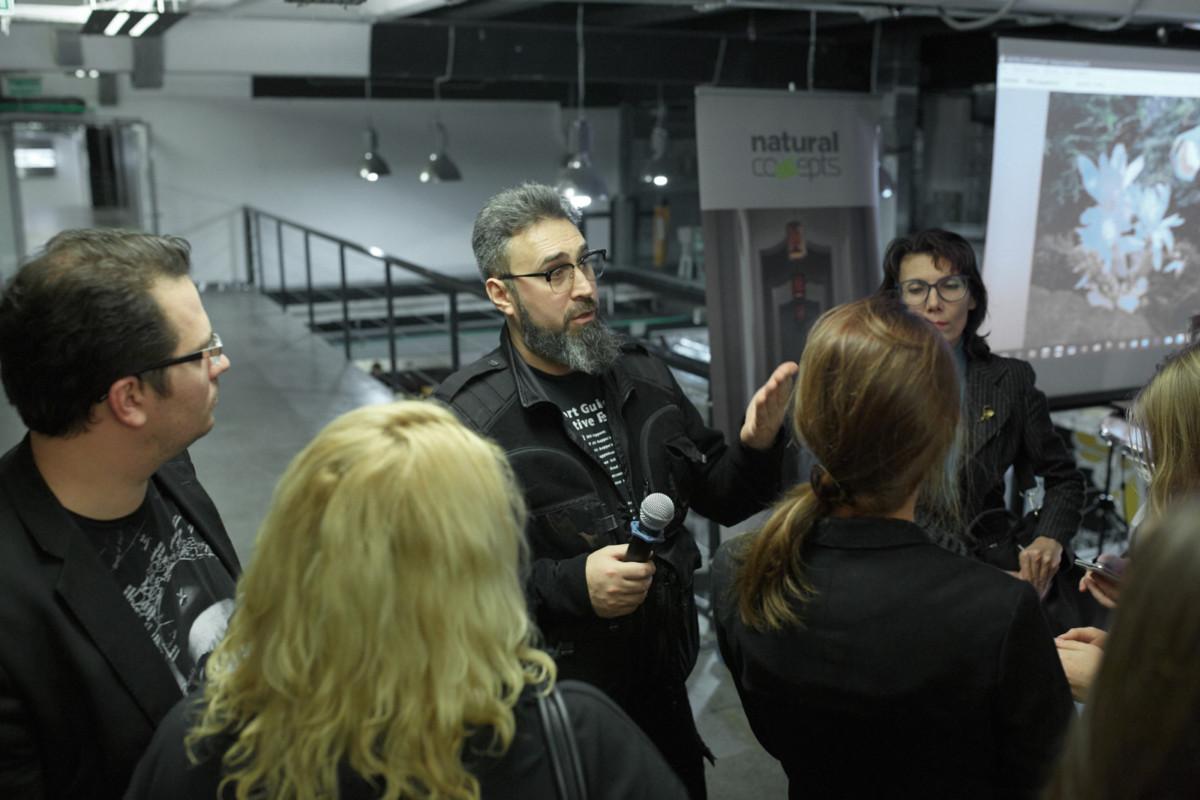 Фотоотчёт с лекции об архитектурном освещении 31 октября