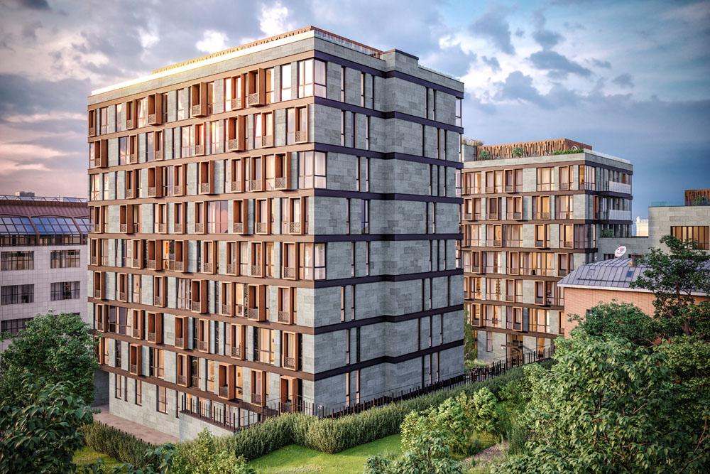 В центре Москвы появится новый жилой дом клубного формата