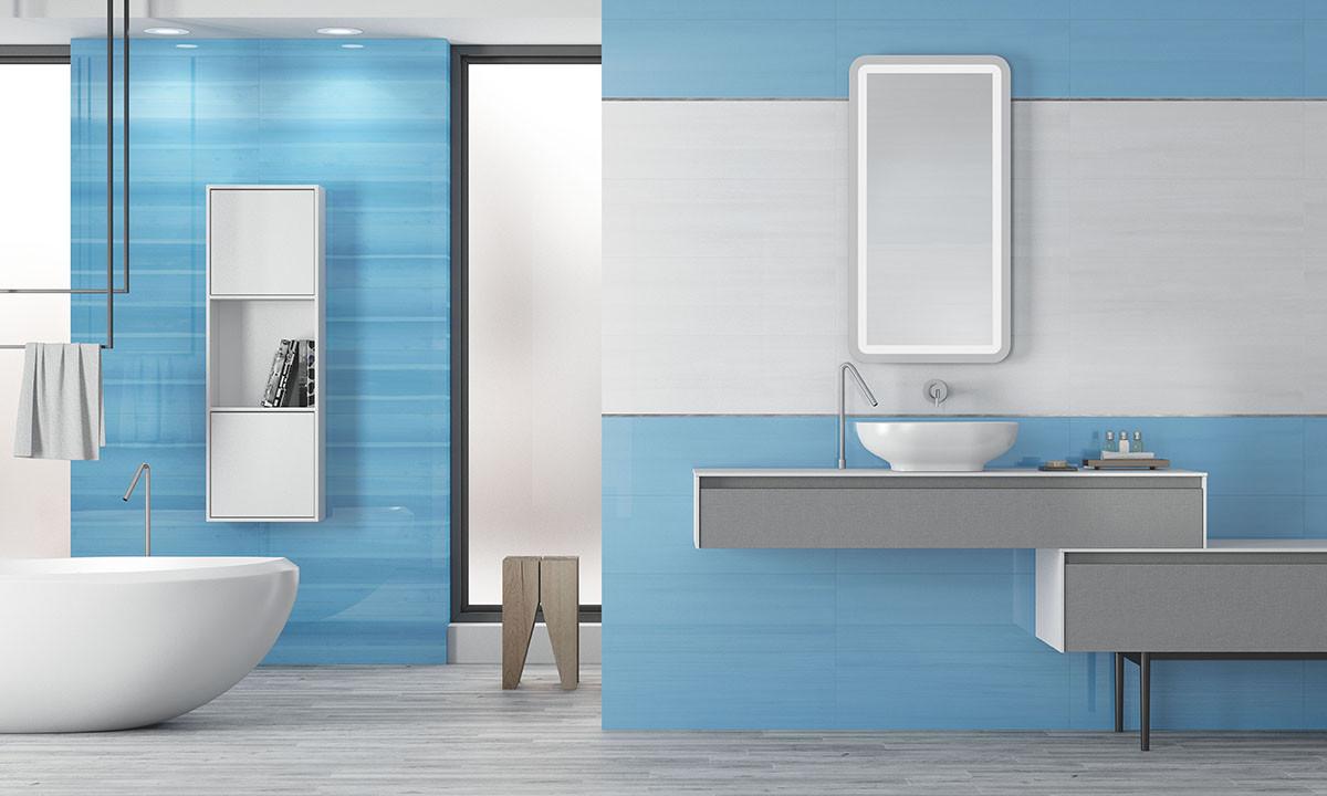 Керамическая плитка в ванной комнате: 32 идеи для вдохновения