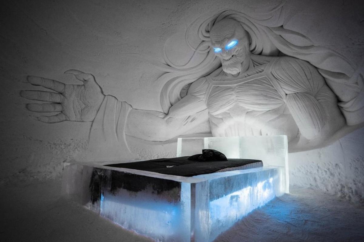 Ледяной отель для фанатов «Игры престолов»