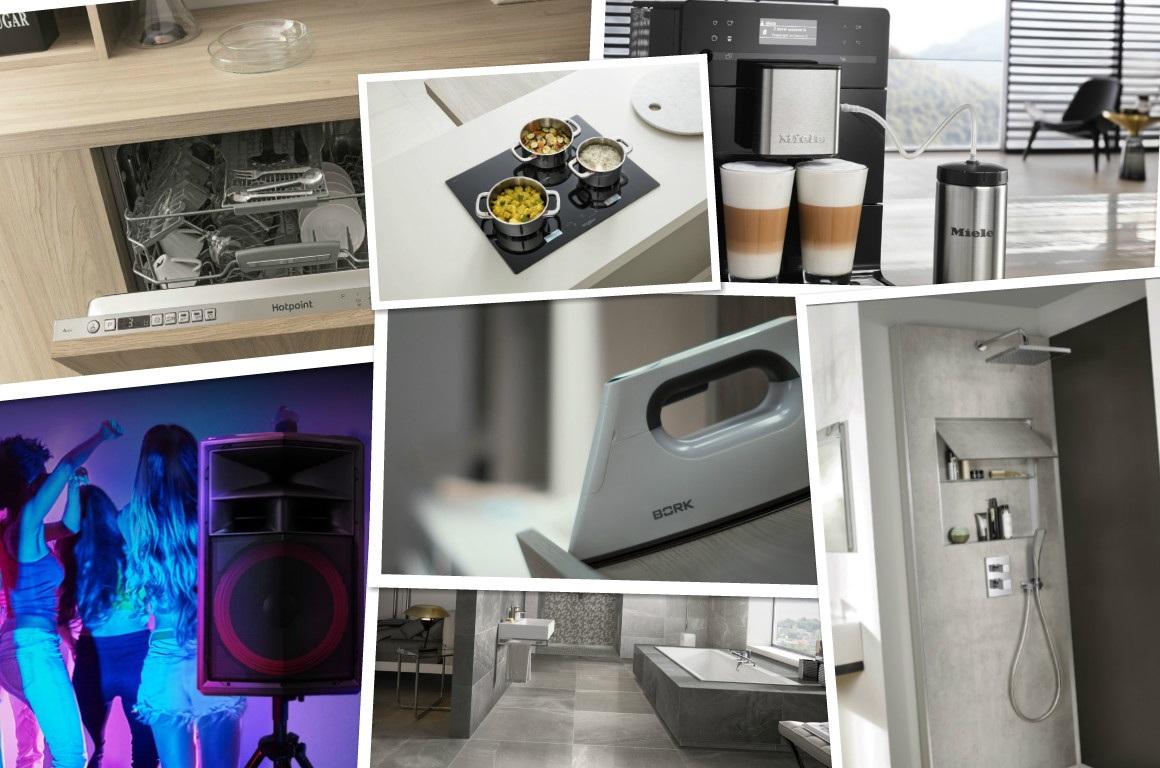 Идеи дизайна ванной комнаты, кухни и гостиной: 8 новинок для дома — 2018