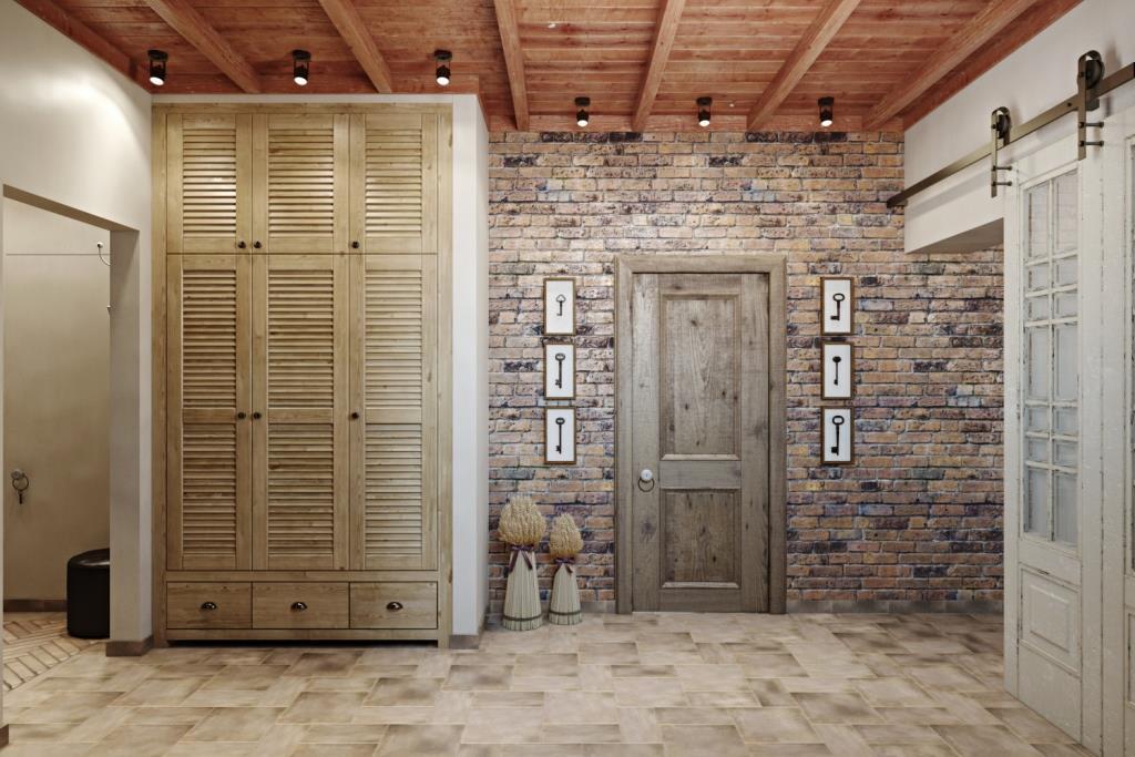 Дизайн должен присутствовать везде, коридоры не должны быть маленькими и выполнять только функцию передвижения. Здесь продуман каждый уголок!