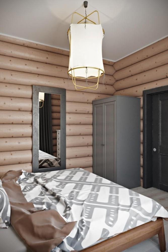 Спокойная, сливочная палитра, натуральный текстиль, окружение древесины и свежий воздух - способствуют хорошему сну и отдыху