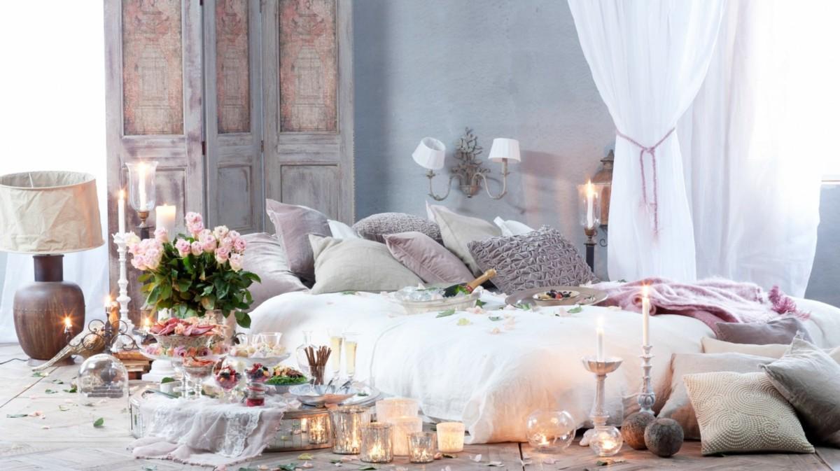 5 секретов идеальной романтической спальни