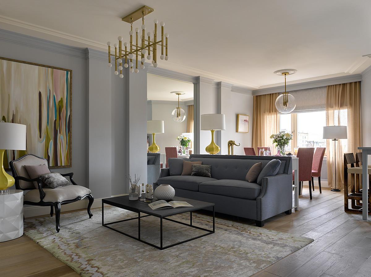 Как визуально поднять потолки: удачные приёмы в квартире со свободной планировкой