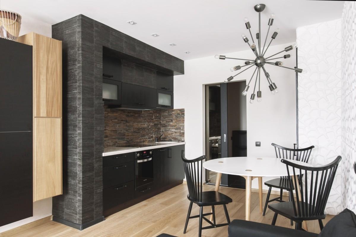 Дизайн двухкомнатной квартиры в африканском стиле