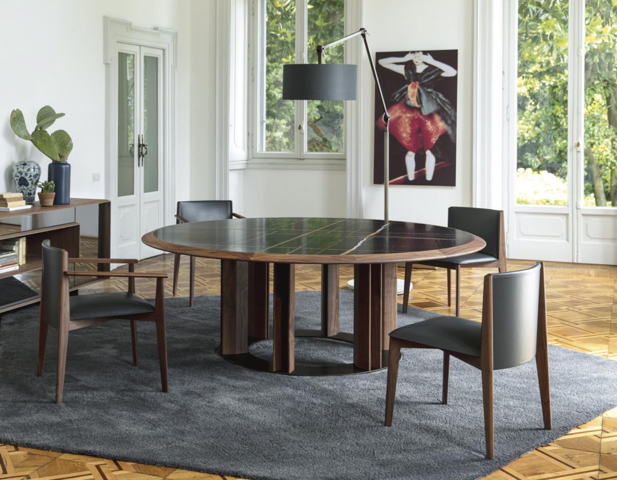 Мода на круглые столы: 20 вдохновляющих примеров