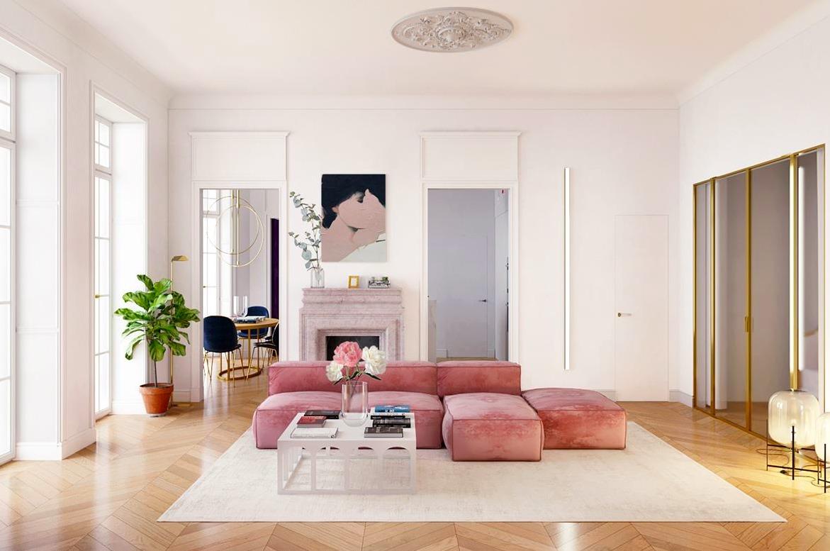 Все любят розовый: интерьеры из Сиднея, Лондона, Кейптауна и Киева
