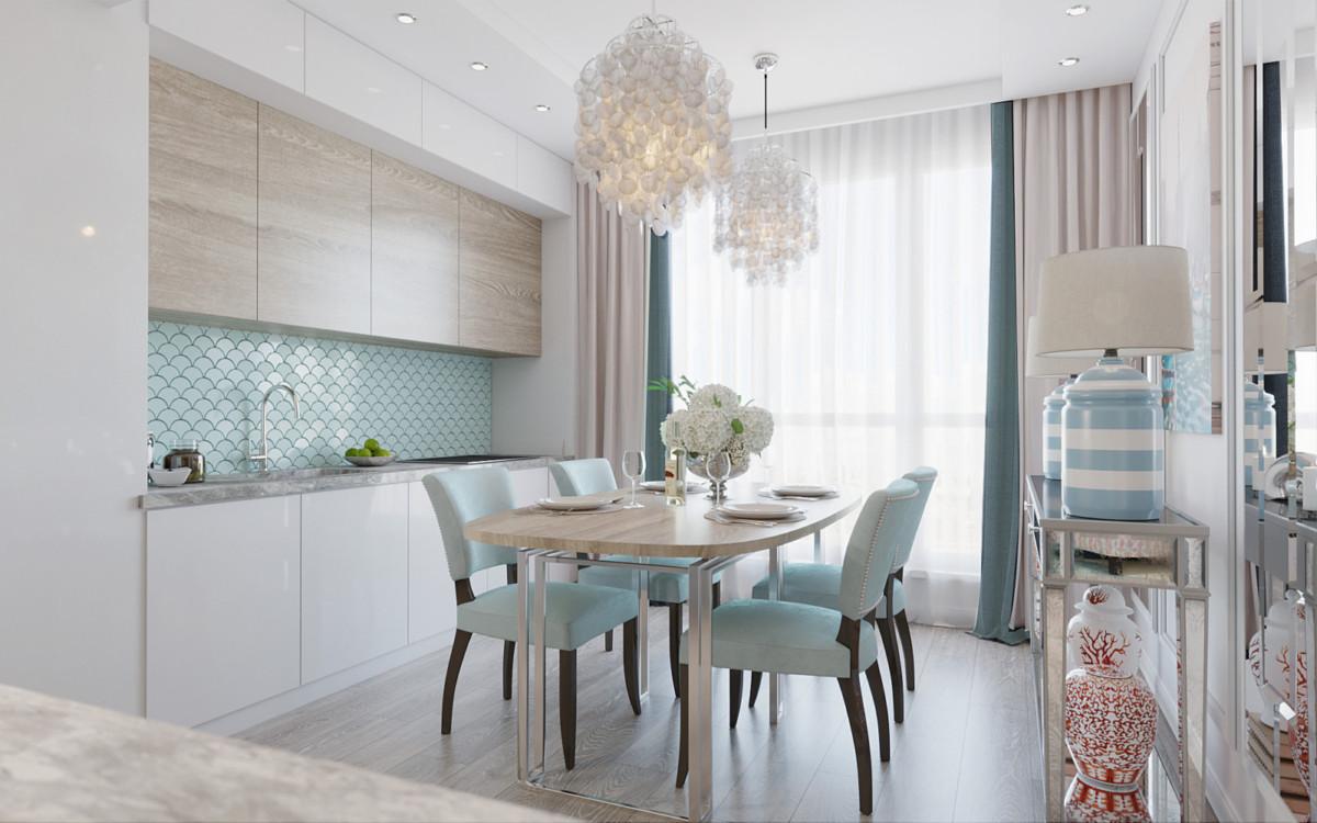 Неоклассика пастельных оттенков в интерьере московской квартиры