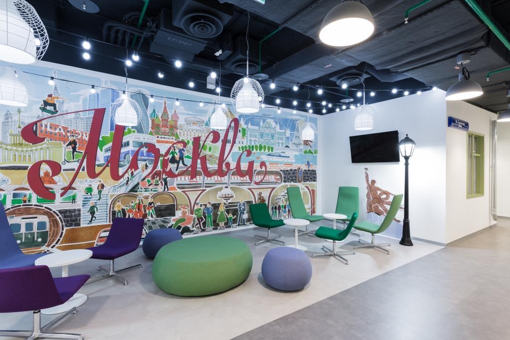Здесь живёт «МегаФон»: офис площадью 40 000 квадратных метров