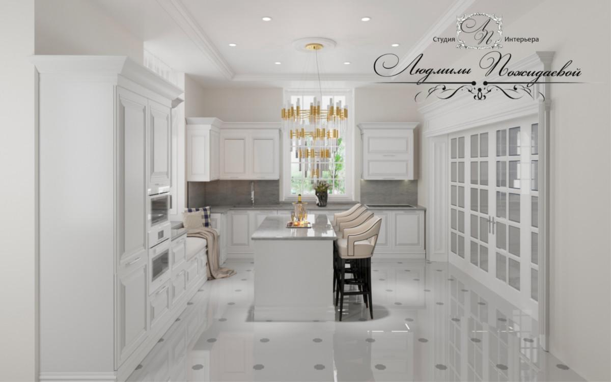 Кухня - любимое место для всех членов семьи.