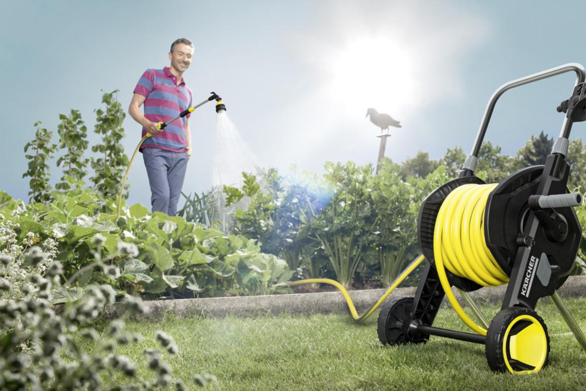 Лучшее решение этого лета для полива газона