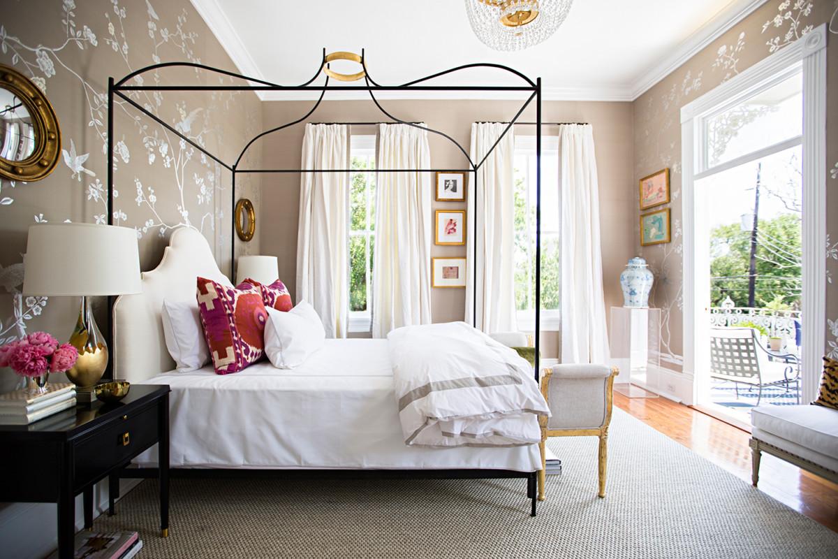 Дивные шторы для спальни: 21 практичная идея для украшения интерьера